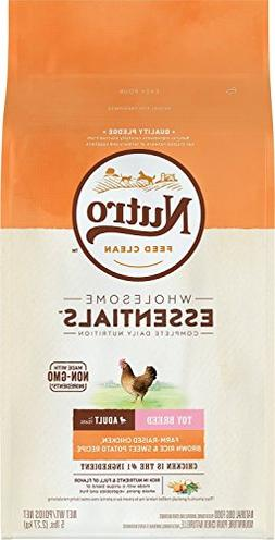 Nutro Toy Breed Adult Dry Dog Food Farm-Raised Chicken, Brow