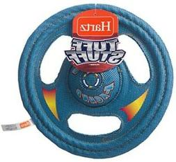 Hartz Tuff Stuff Toss Around Plush Frisbee Flyer Dog Toy - M