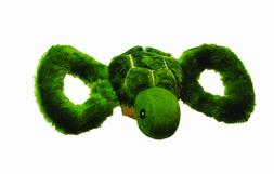 Jolly Pets Jolly Tug-a-Mal Turtle Tug/Squeak Toy, Large