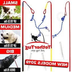 Tether Tug V2 Outdoor Dog Interactive Toy Tugging Pull Exerc