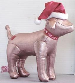 Victorias Secret Pink Collectible Dog: Glitter Pink With San