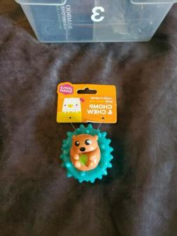 Leaps & Bounds Vinyl Hedgehog Ball Dog Toy, X-Small