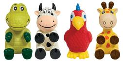 KONG Wiggi Available in 4 Characters & 2 Size  Free Shipping