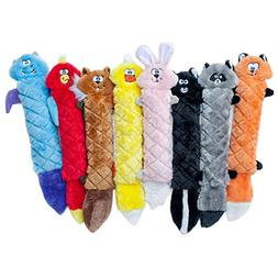 Zippy Paws Jigglerz Stuffing Free Dog Toy Skunk & Chipmunk S