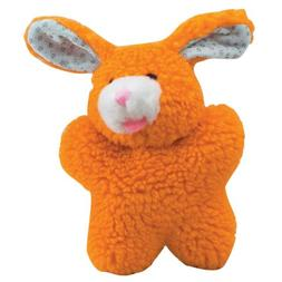 Zanies ZW292 11 Cuddly Berber Baby Bunny 8In Orange